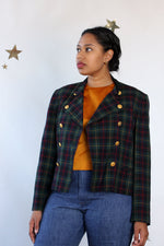 JH Ivy Plaid Jacket M