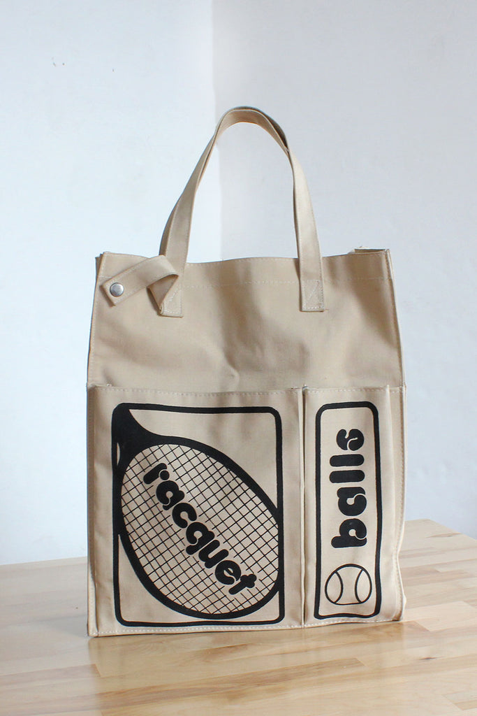 Novelty Tennis Tote