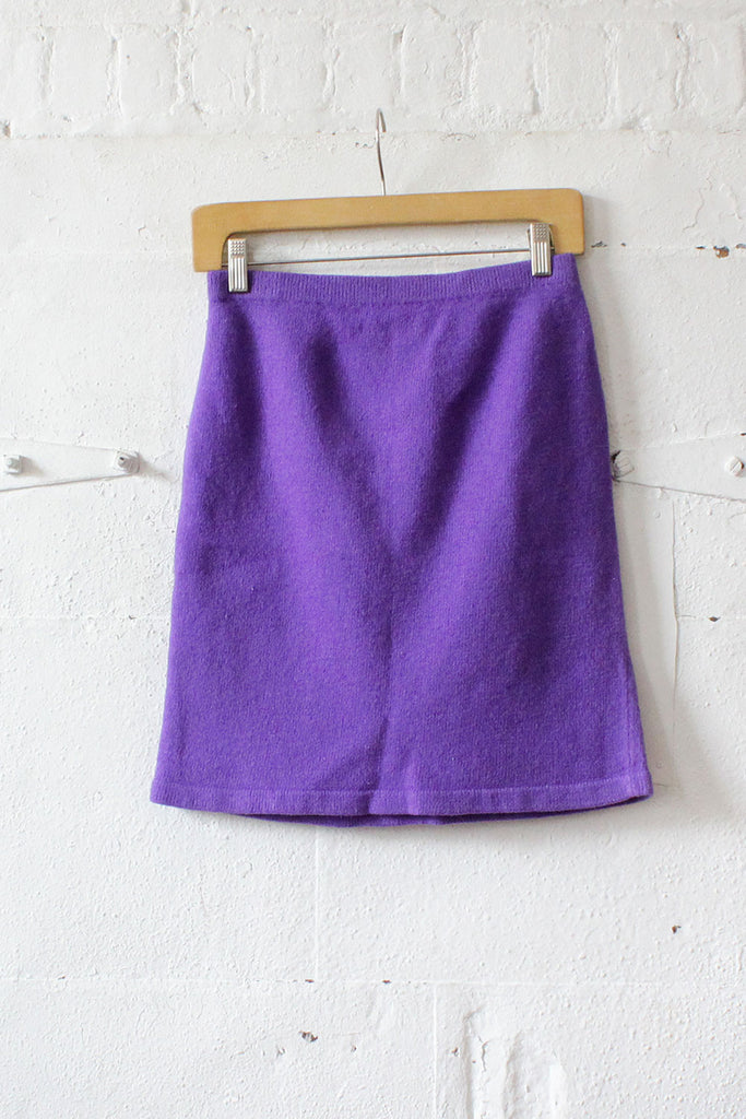Orchid Knit Skirt M