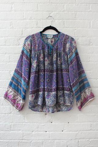 Painterly Print Blouse M/L