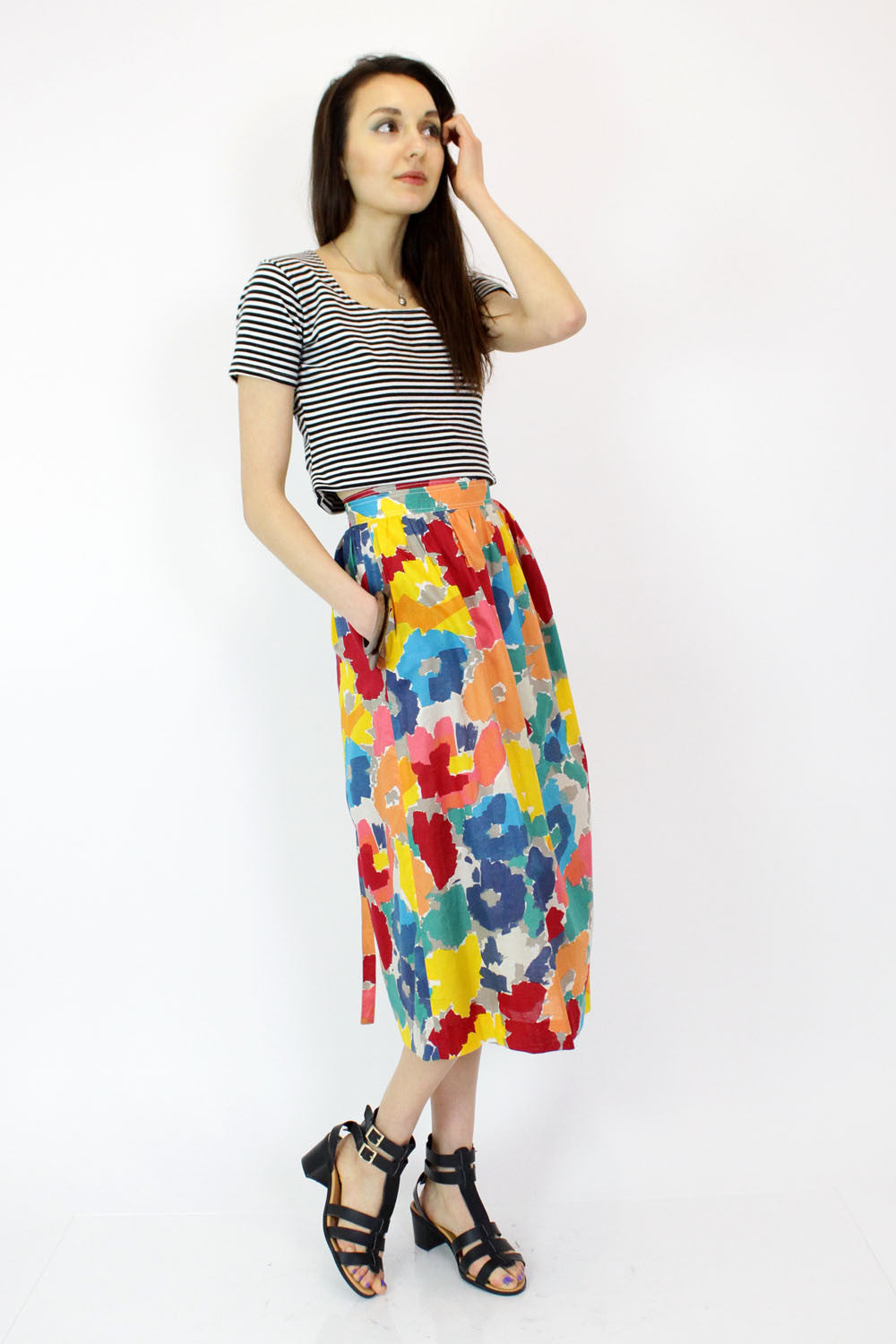 Mondi Stroke of Color Skirt M