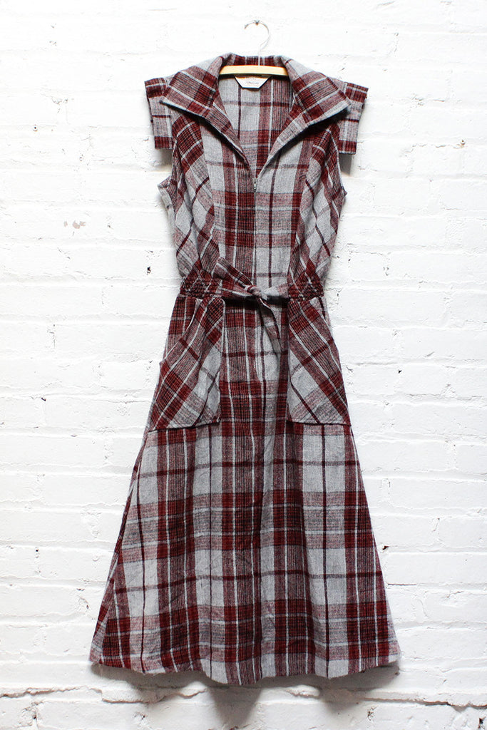 Rad Plaid Dress S