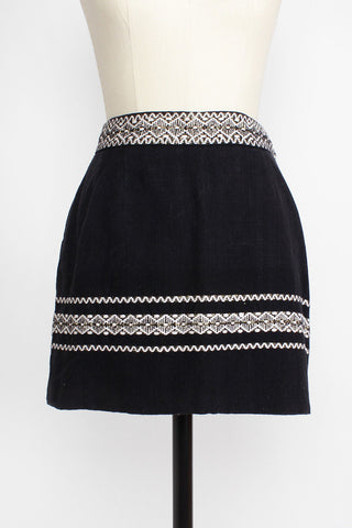 Mexican Mini Skirt S