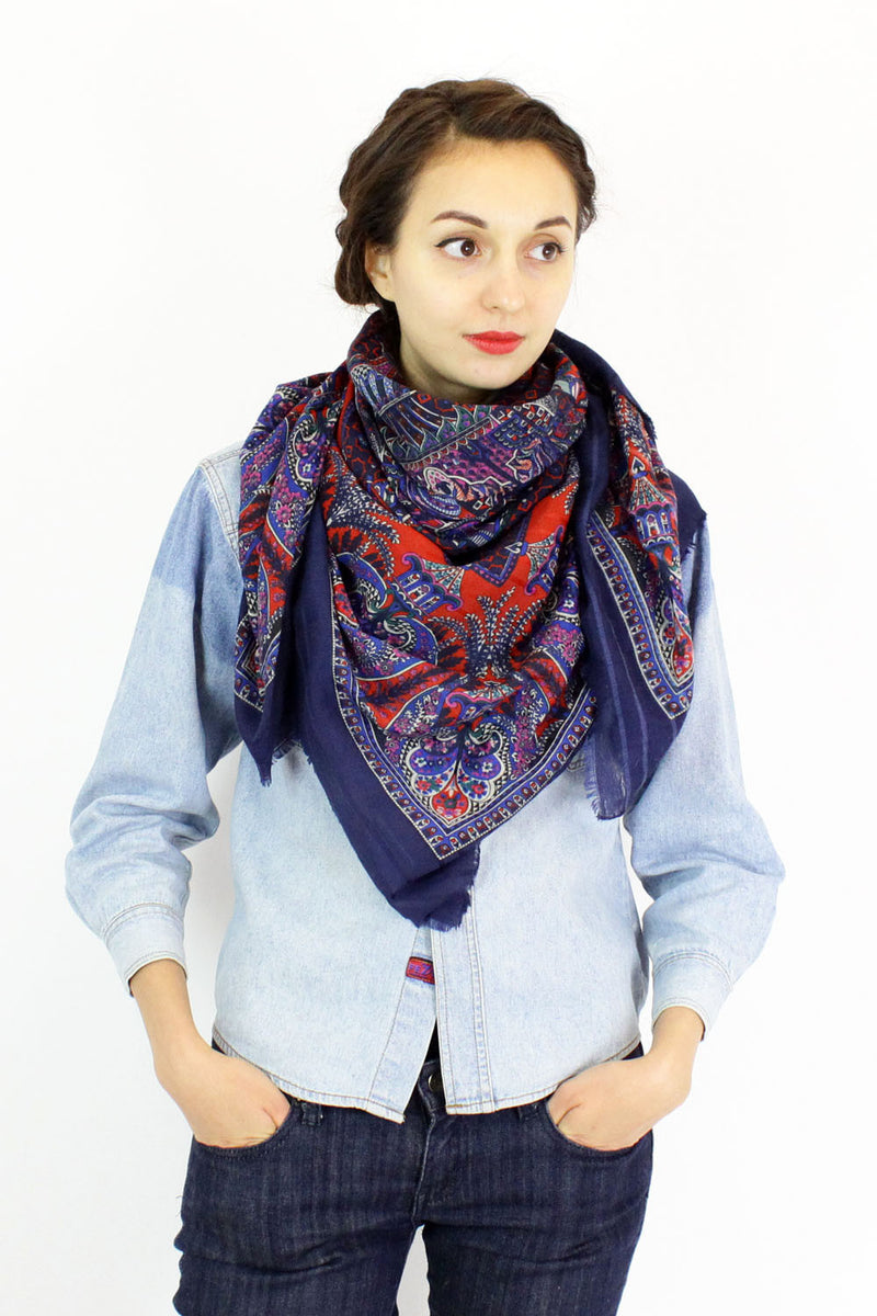 hidden palace patterned scarf