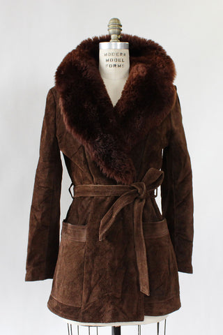 Andes Shearling Coat S/M