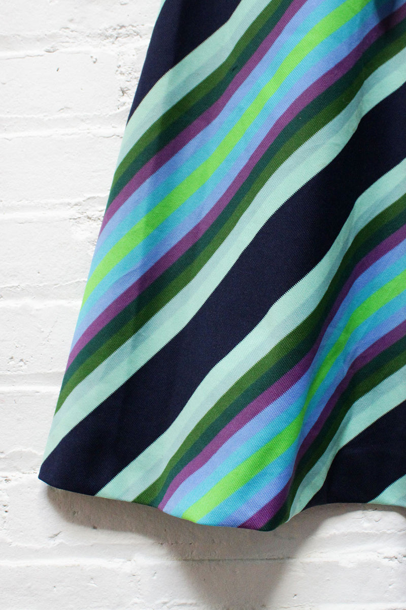 Atari Chevron 70s Dress M
