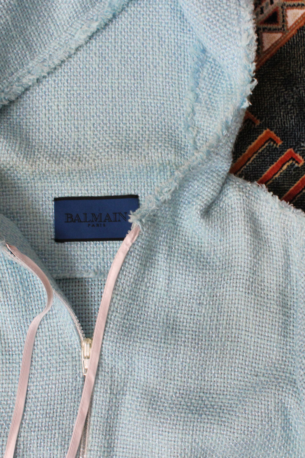 Balmain Bright Blue Jacket S