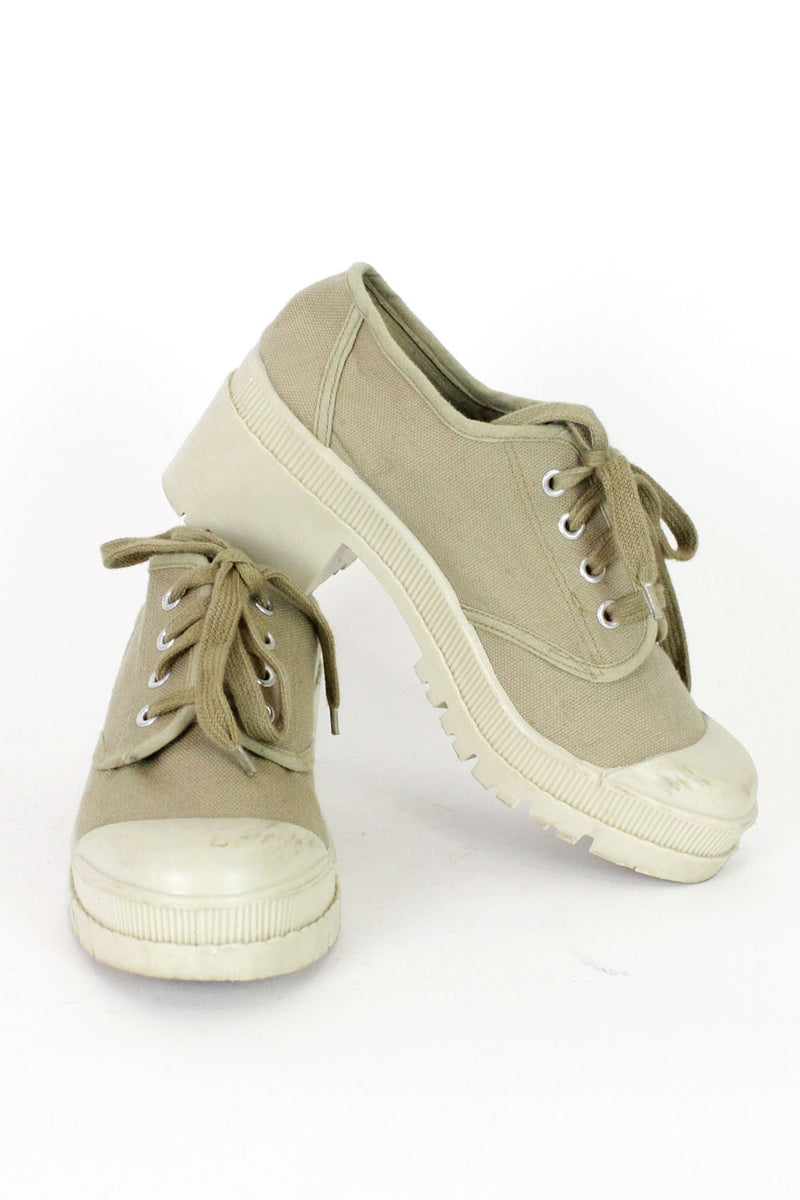 Vintage 90s Gap Chunky Canvas Sneakers