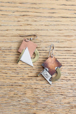 Beacon Mixed Metal Earrings