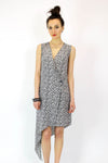 Chanel Silk Wrap Dress S