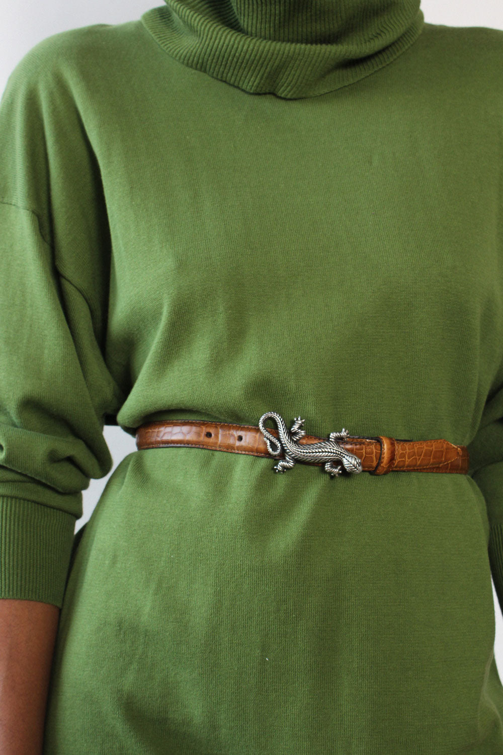 Lizard Buckle Belt
