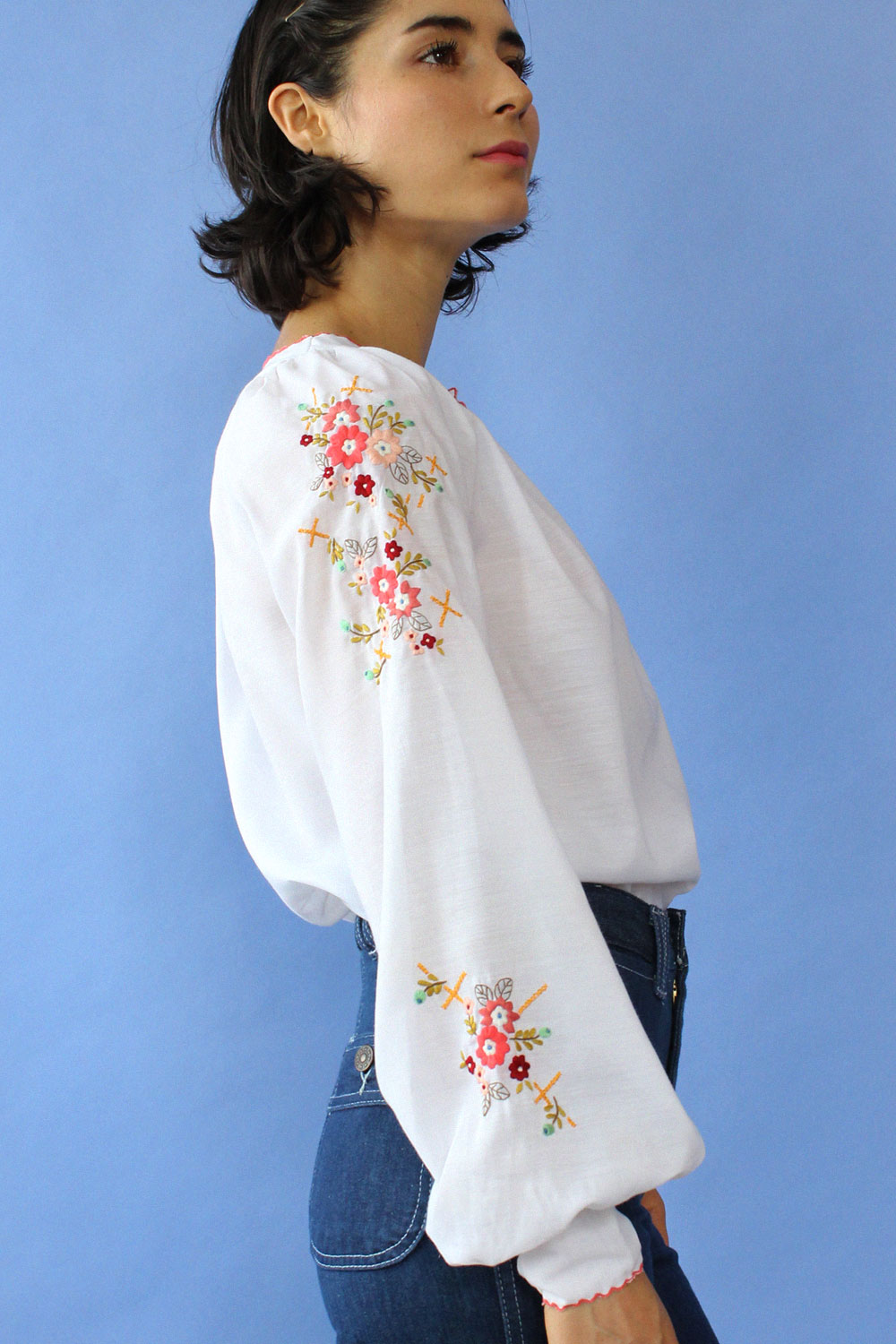 Lily Embroidered Blouse S/M