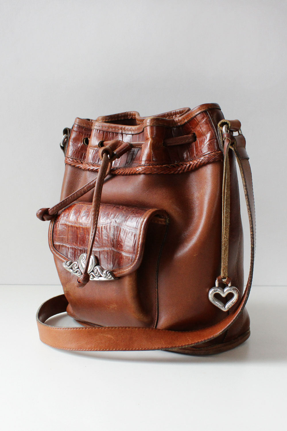 Brighton Chocolate Bucket Bag