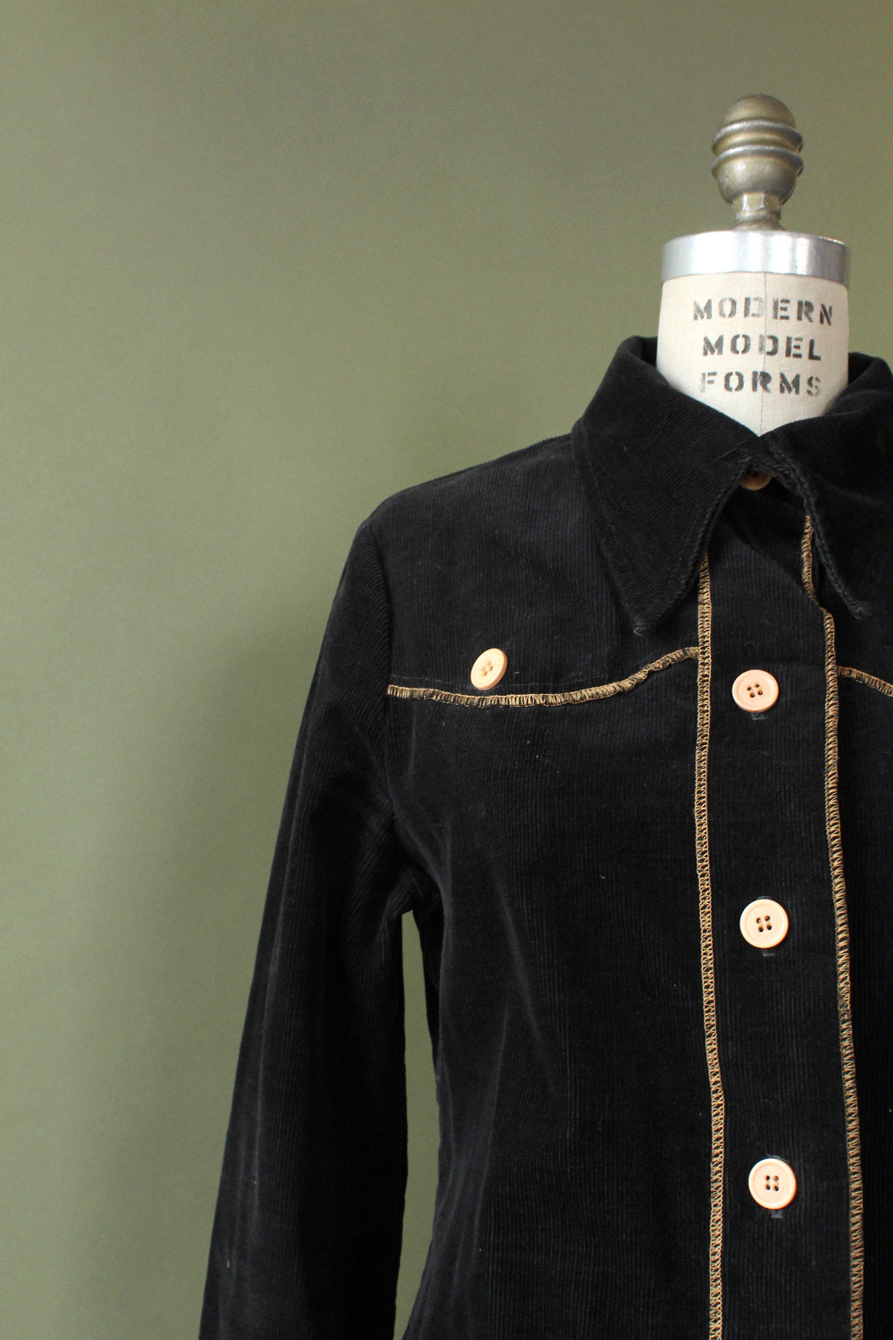 Sable Corduroy Shirt Jacket M