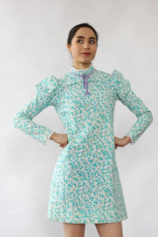 Flora Kung Lavender Silk Dress XS/S