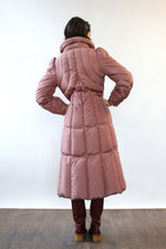 Pink Power Puffer Coat S