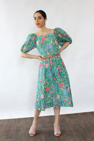 Maggy Ditsy Floral Dress M/L