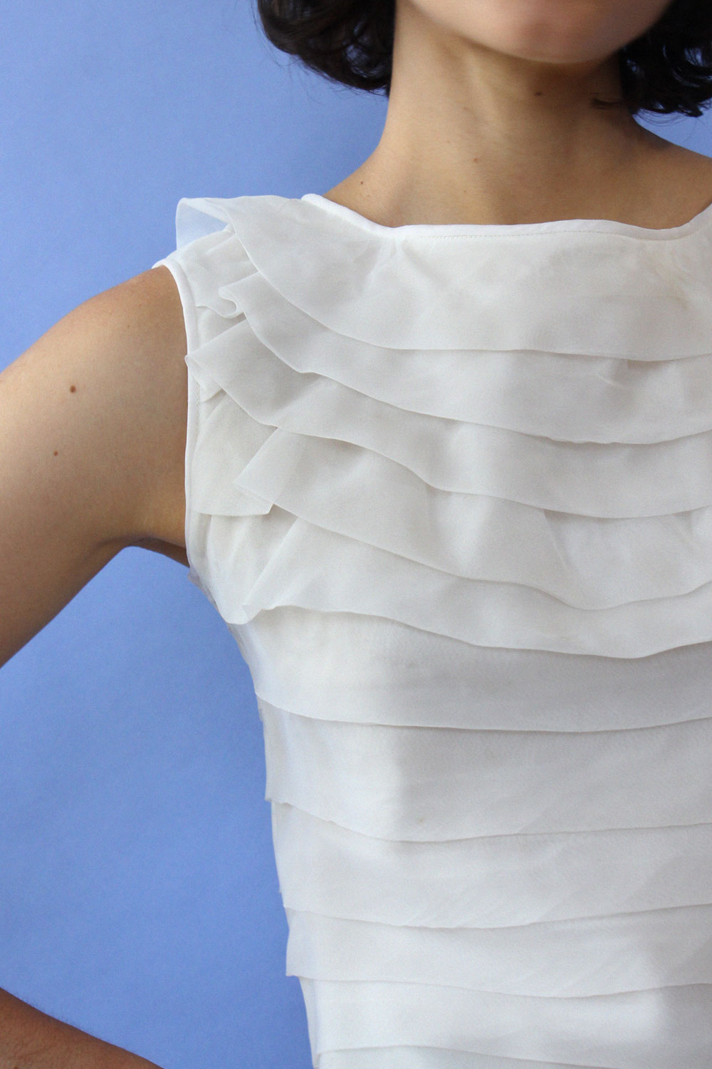 Gregory Ruffle Shell Top XS/S