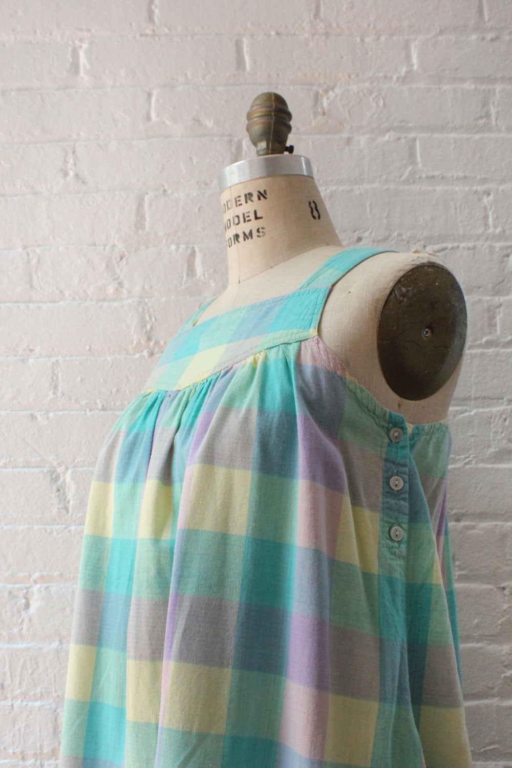 Chambeli Cotton Smock Dress S/M