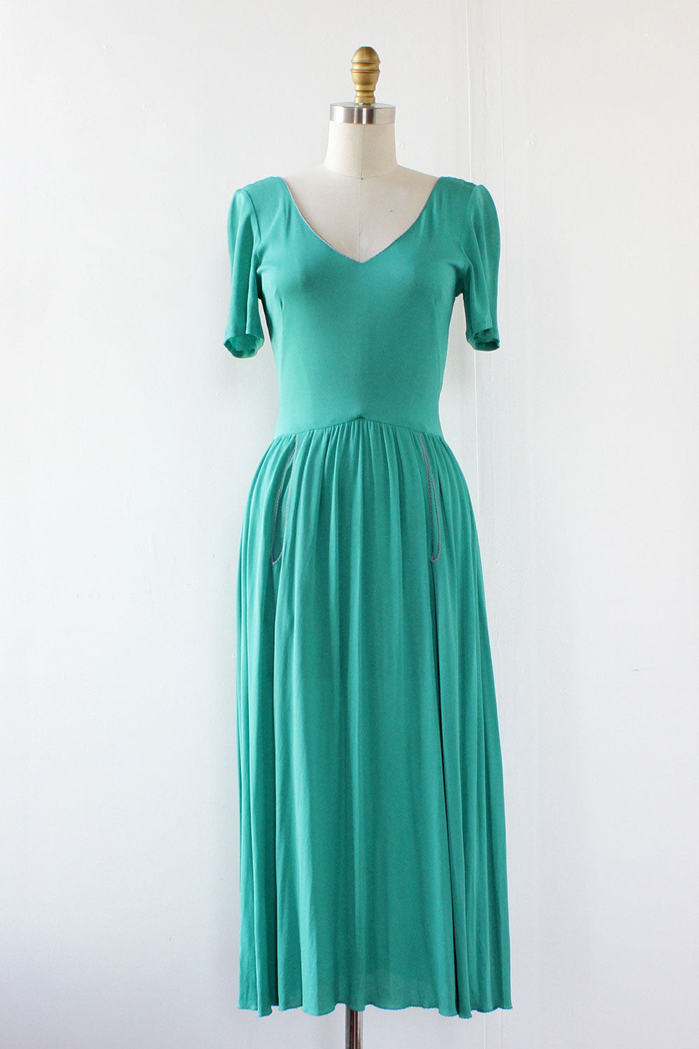 Seafoam Drape Dress XS/S