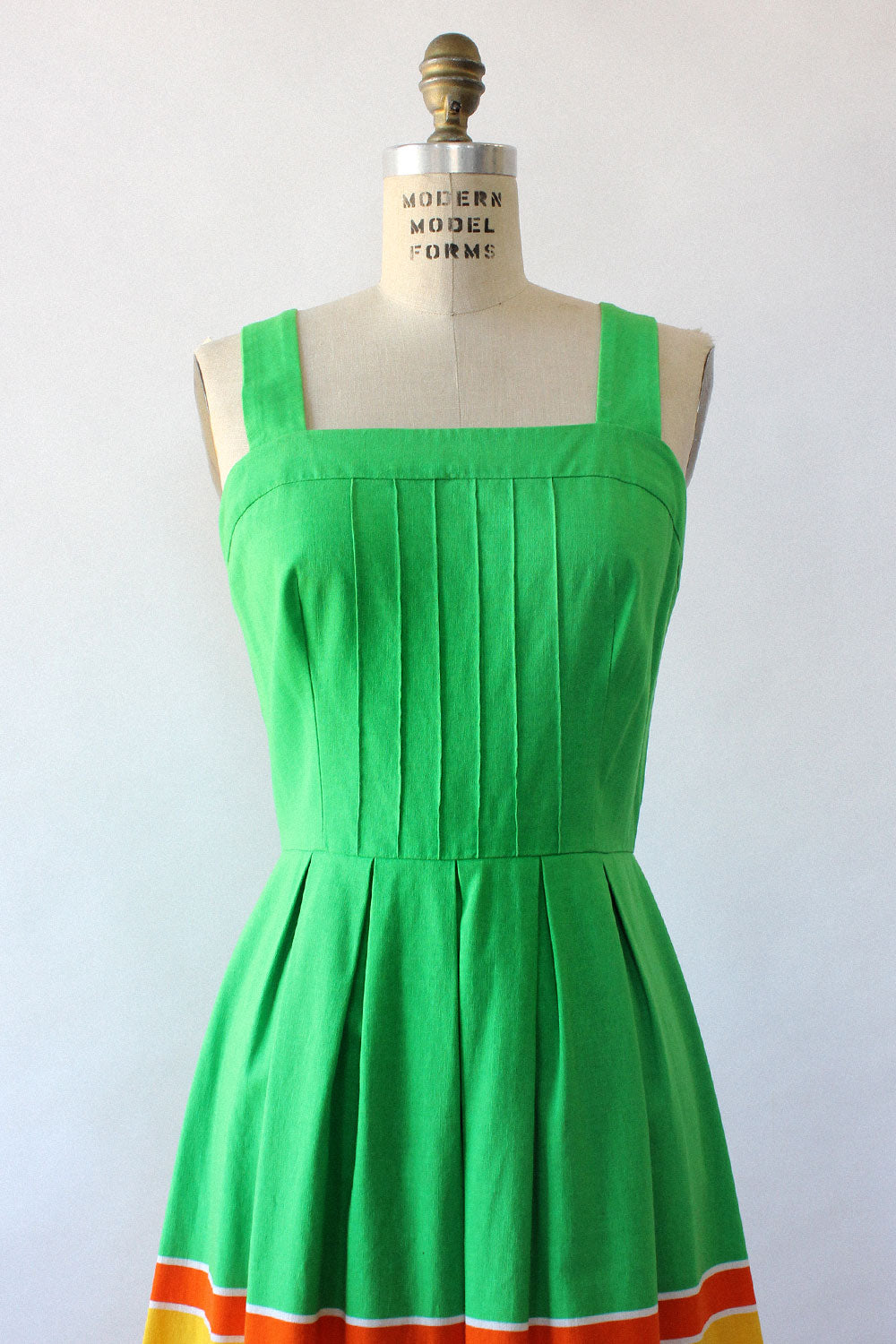 Malia Lemon Lime Sundress M