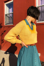 Canary Pullover Sweater S/M