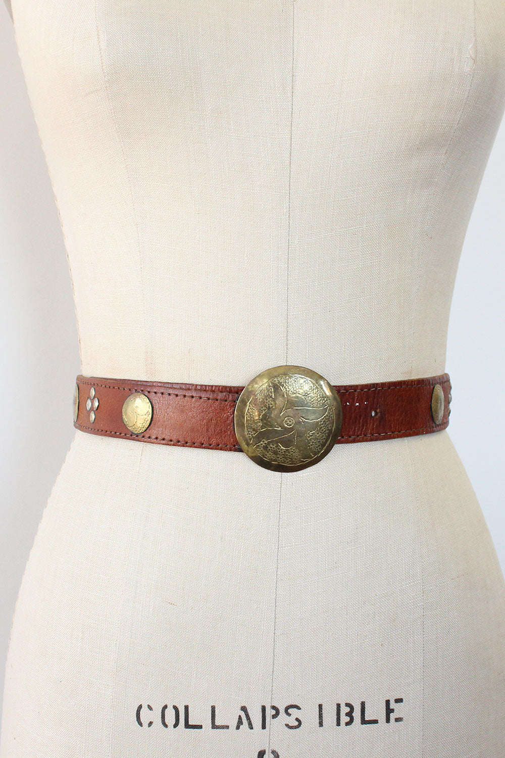 Moroccan Coin Belt