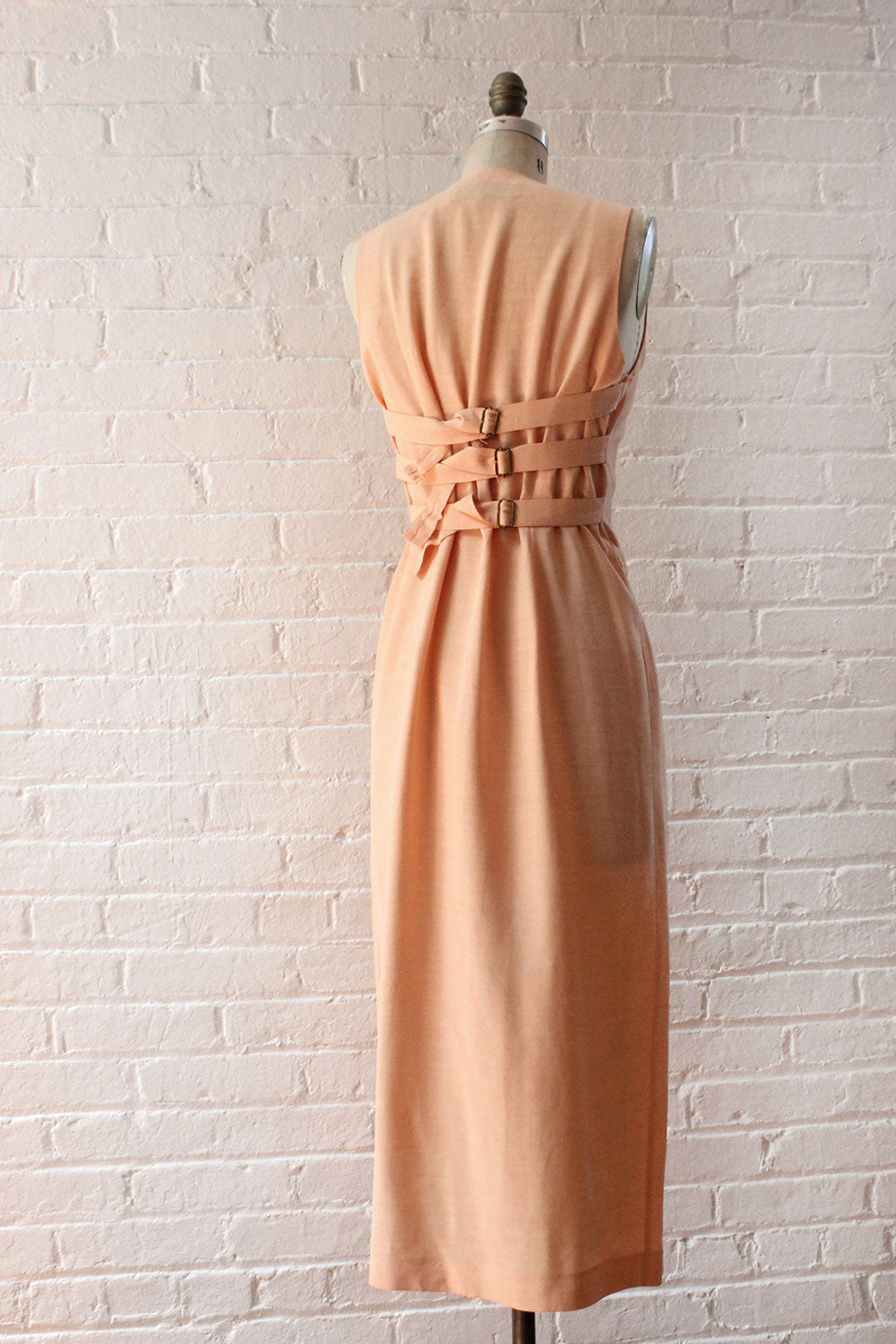 Peach Trouser Dress S/M