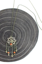 Tribal Tassel Pendant Necklace