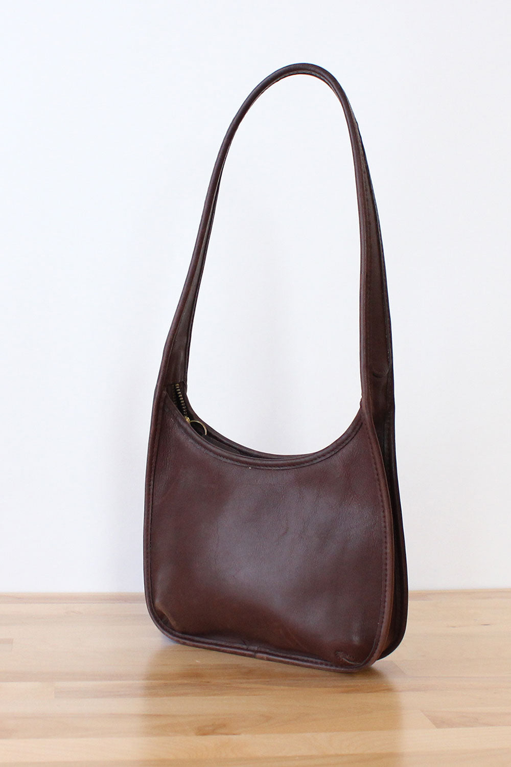 Chocolate Coach Shoulder Bag