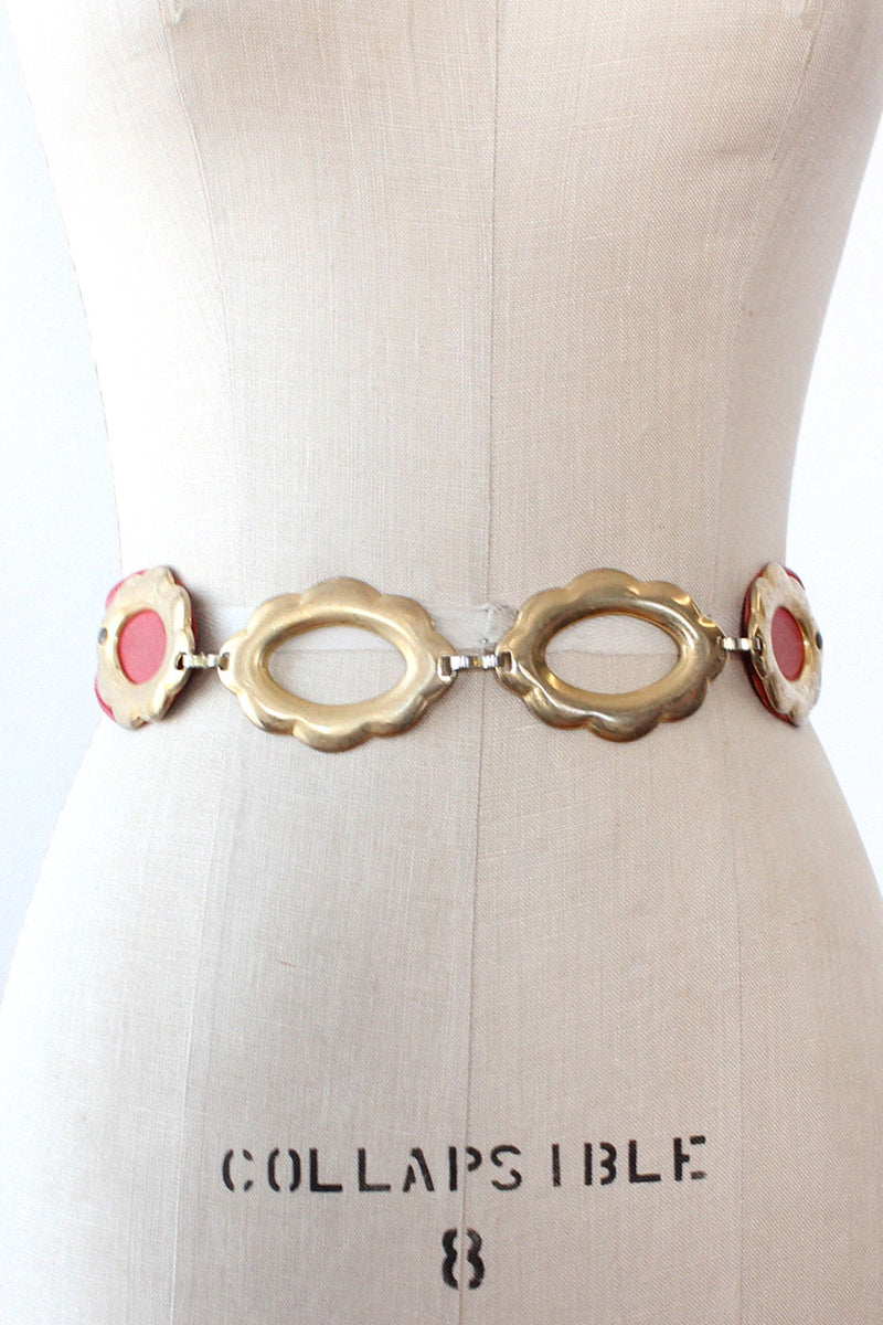 Gail Labelle Gold Medallion Belt