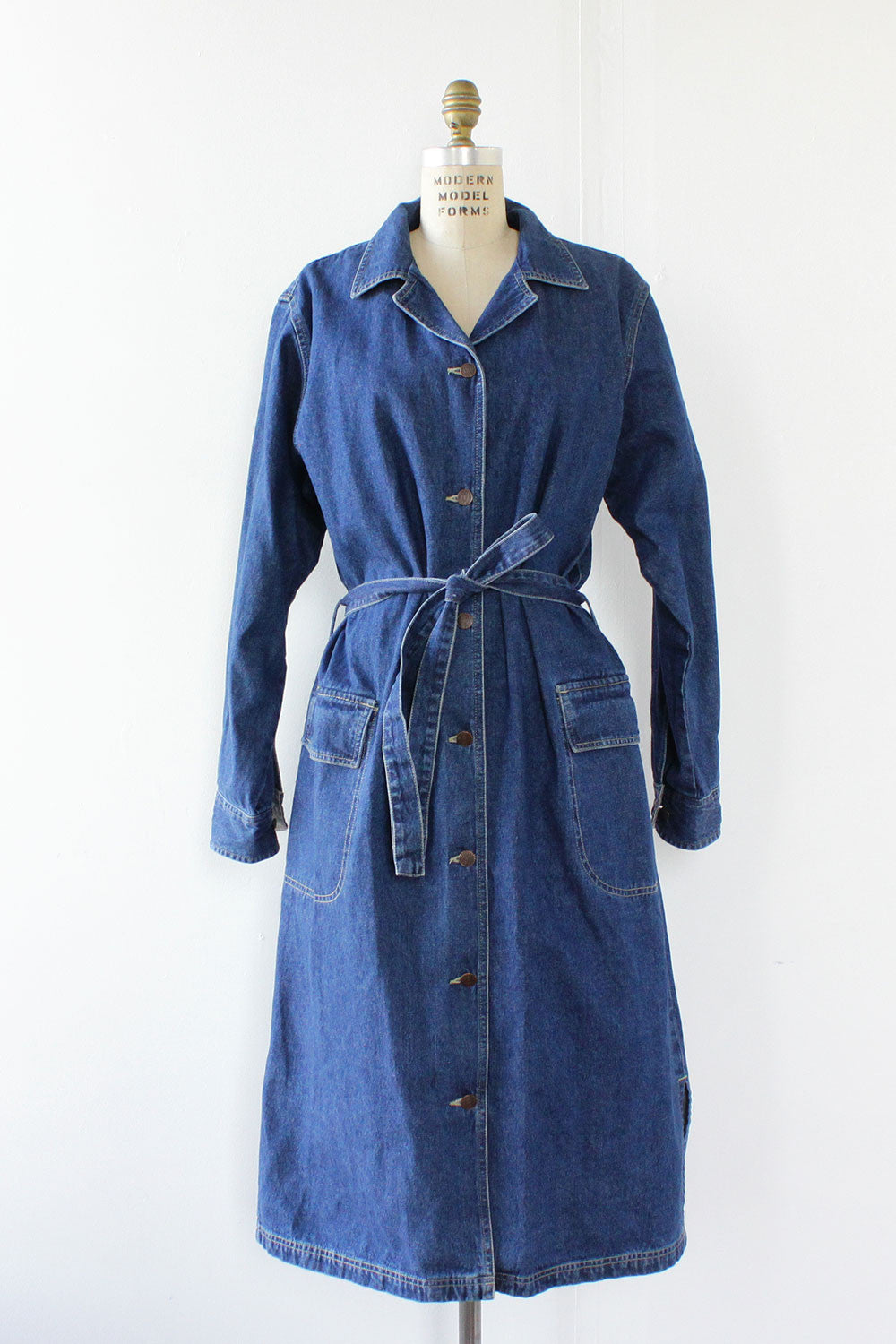 Bill Blass Denim Duster