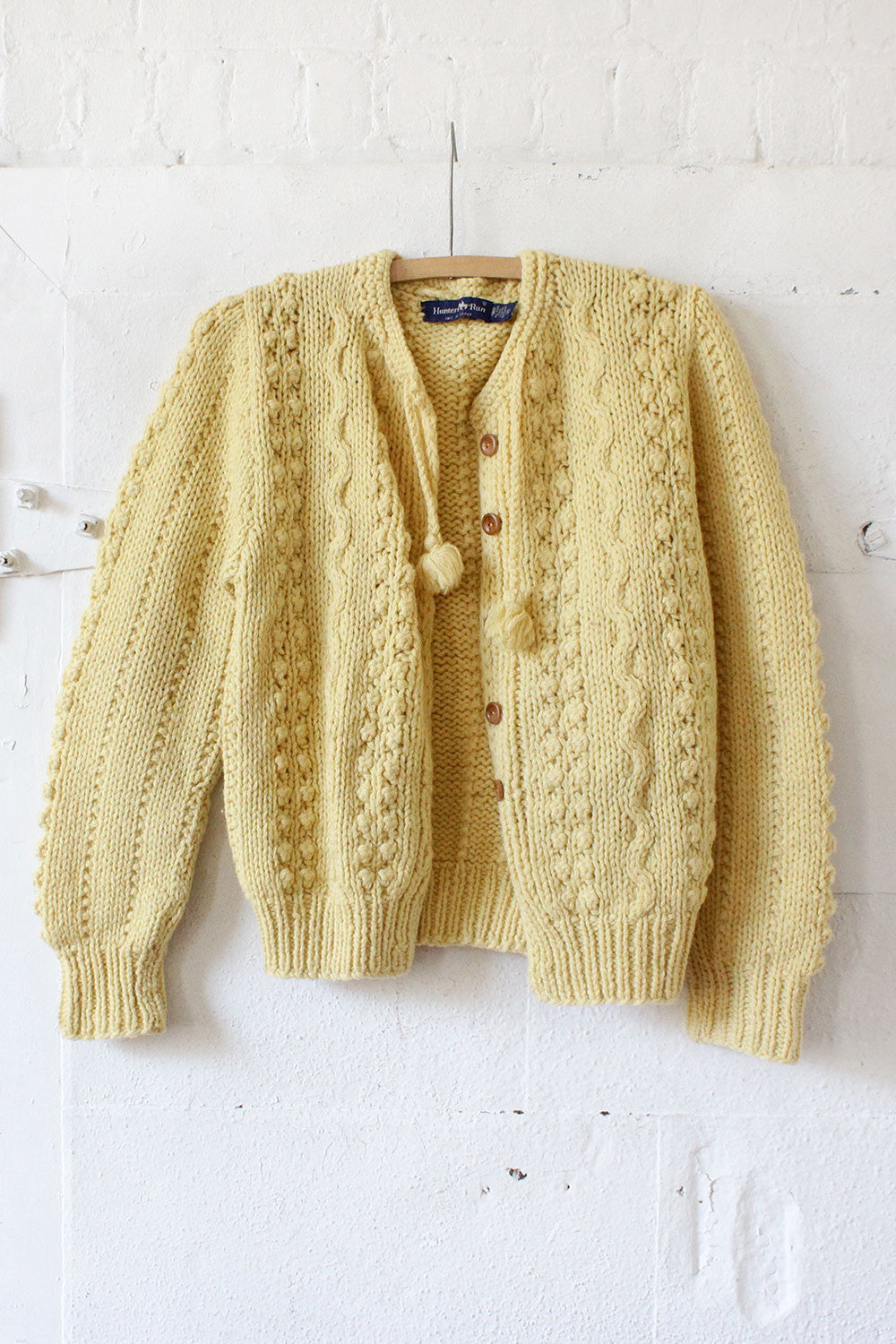 Buttercup Cable Cardigan M