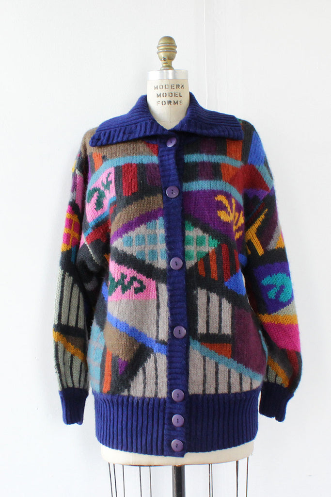 Theoretical Slouchy Cardigan