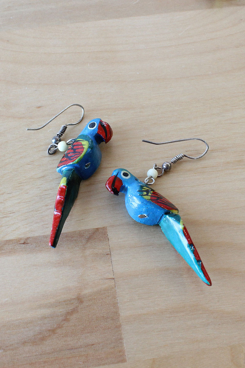 Parrot Dangle Earrings