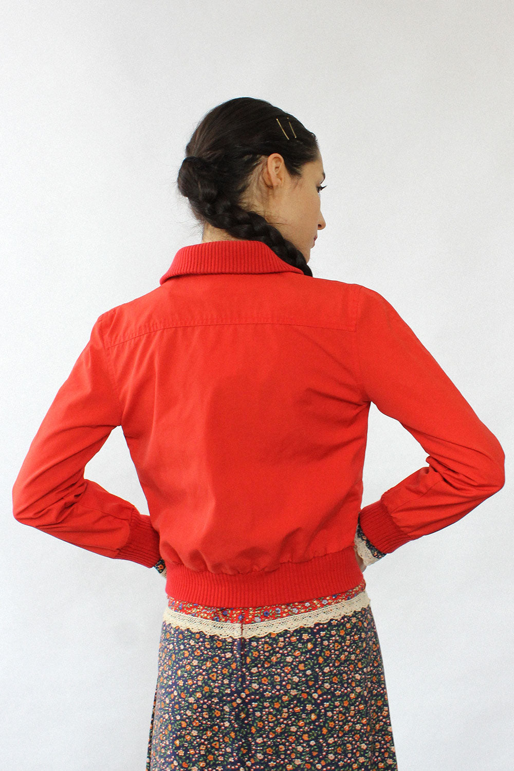 Brass Plum Red Sport Jacket XS/S