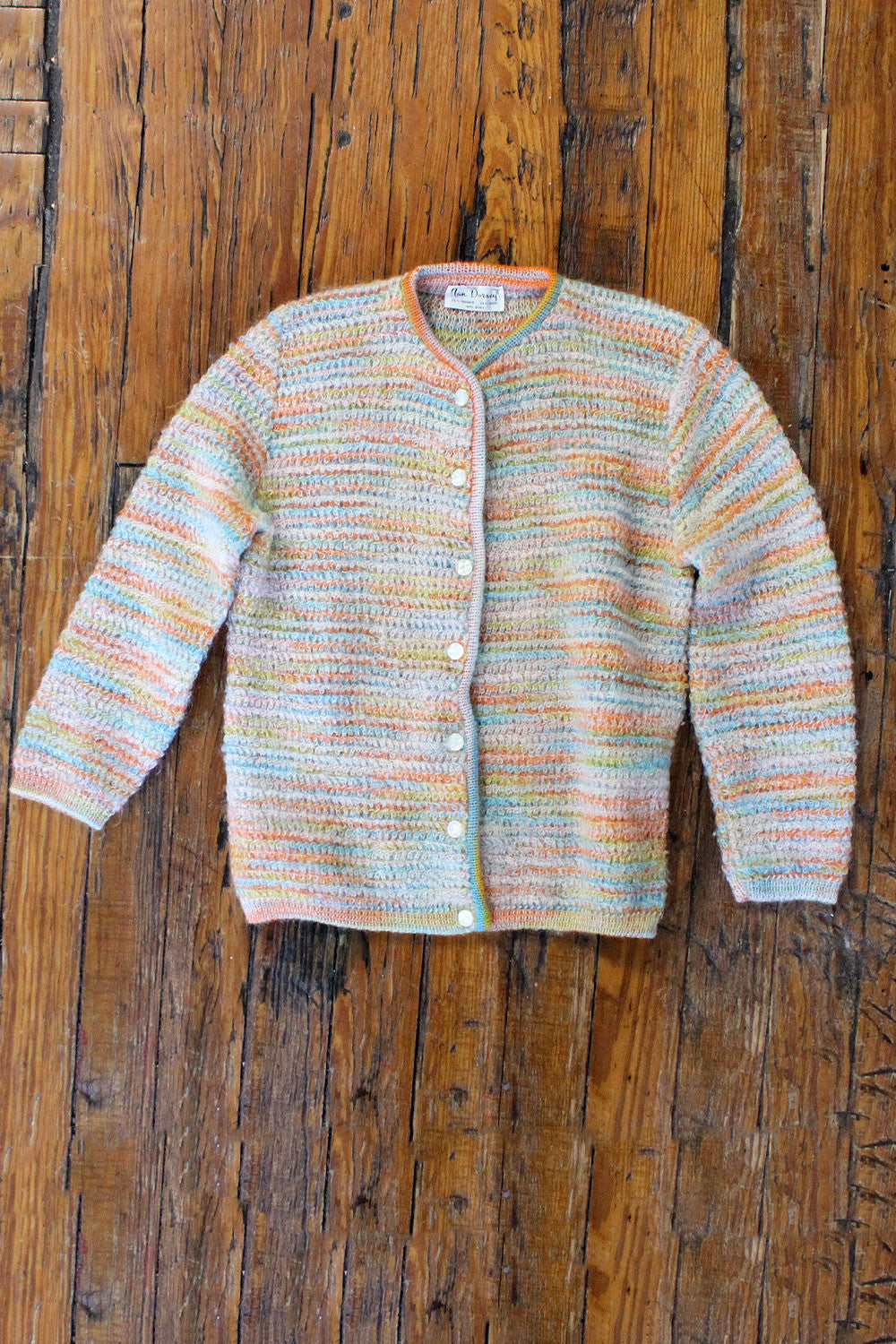 Pastel Looped Cardigan S/M
