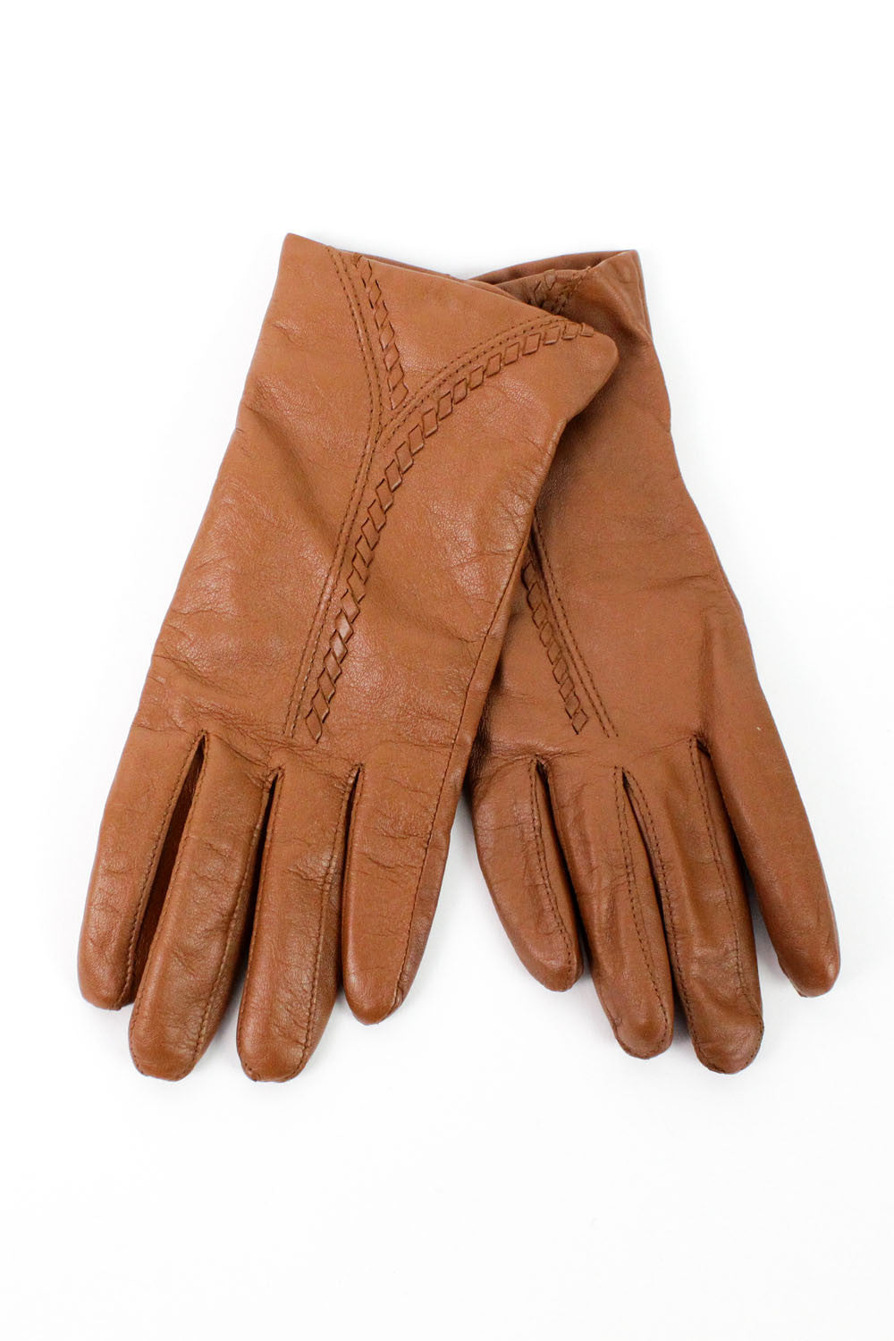 Etienne Aigner leather gloves