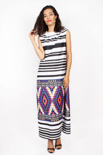 Frequency 70s Maxi Dress M/L