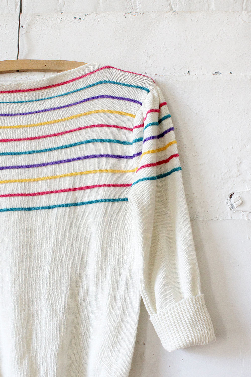 Candy Stripe Sweater S/M
