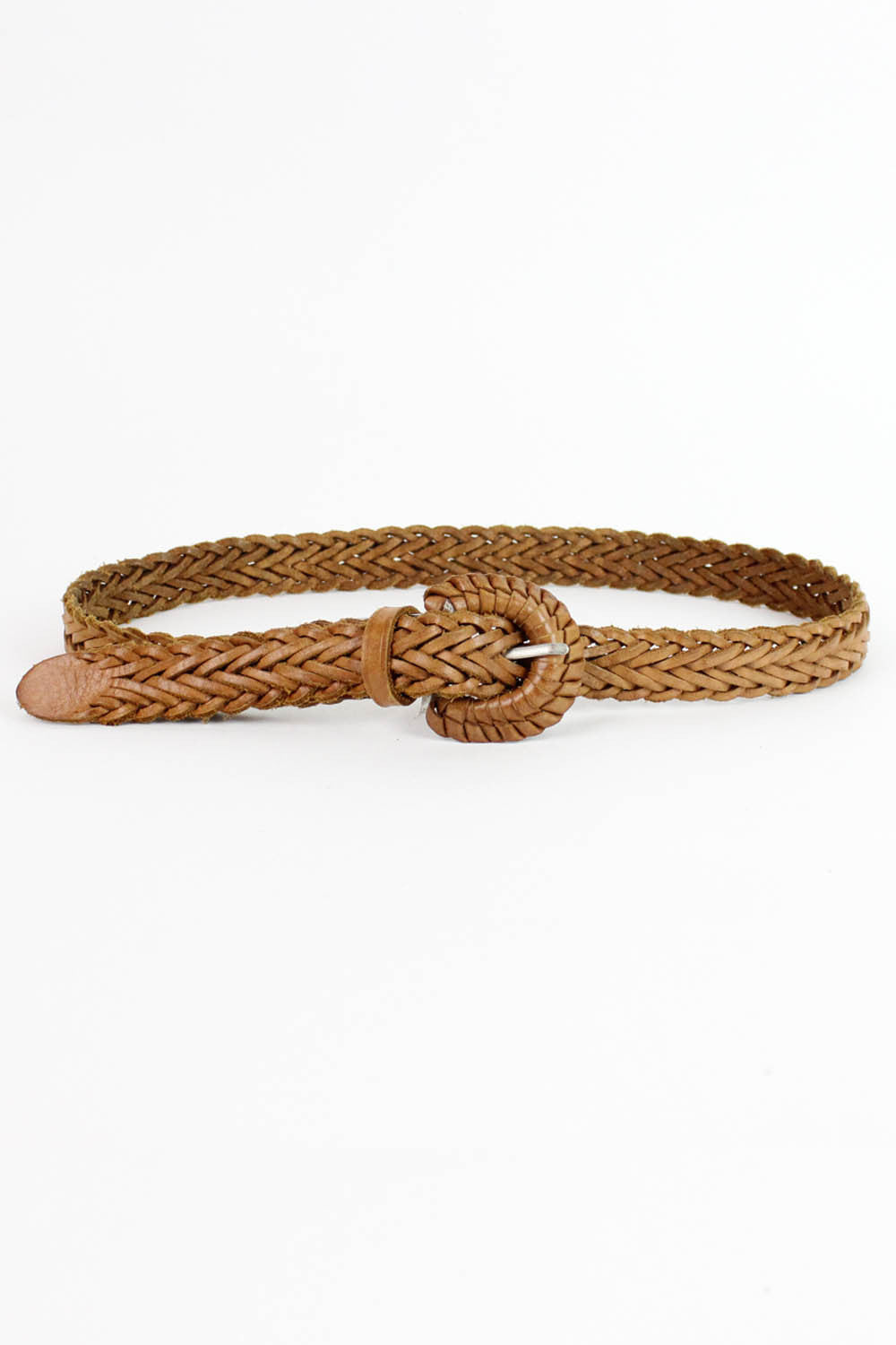 Tawny Braided Belt