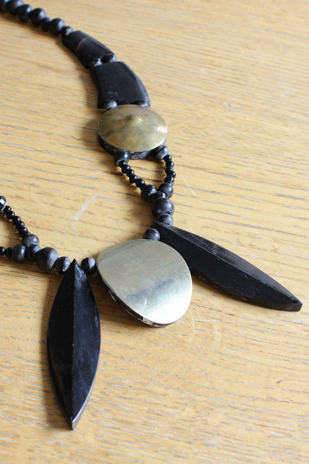 Ana Horn Necklace