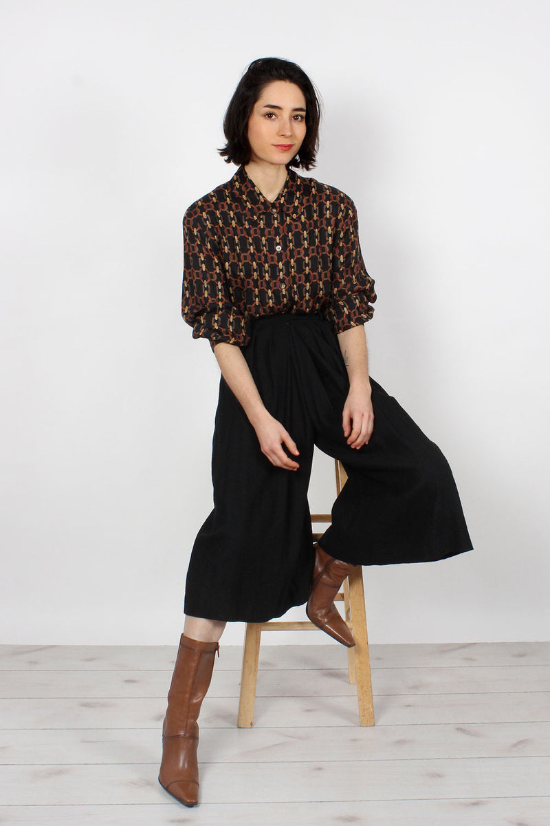 Finity Pleated Gauchos XS