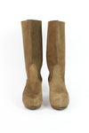 Sanita Wood Clog Boots 6.5