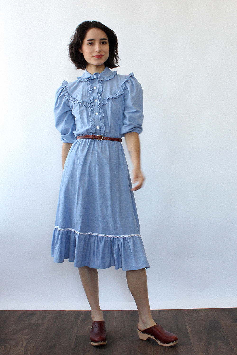Chambray Prairie Dress XS/S