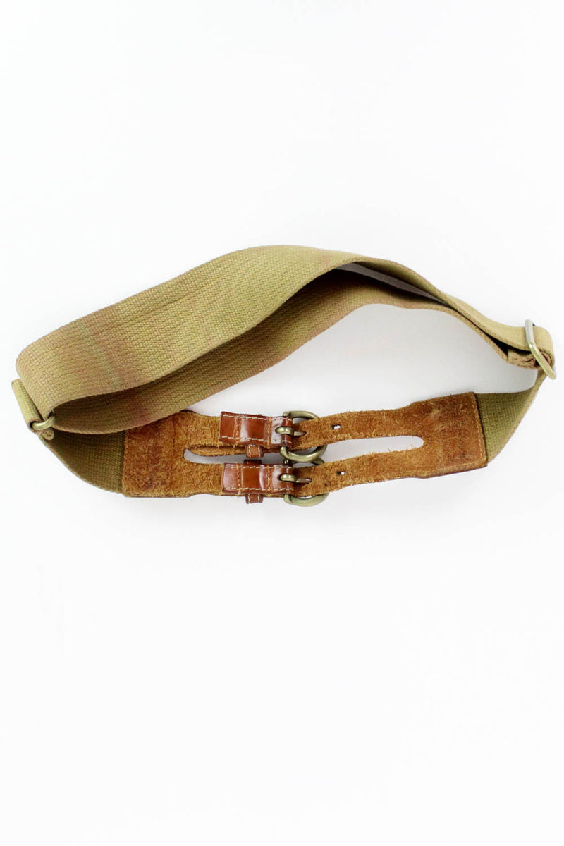 Vintage Banana Republic Double Buckle Belt