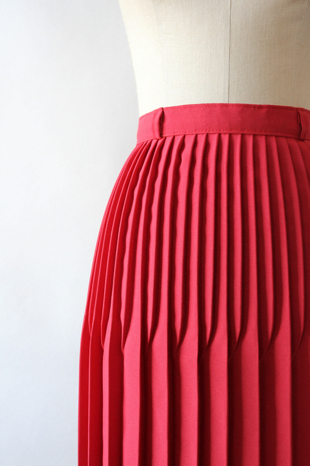 Watermelon Accordion Pleat Skirt M