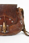 60s Tooled Toggle Bag (As Is)