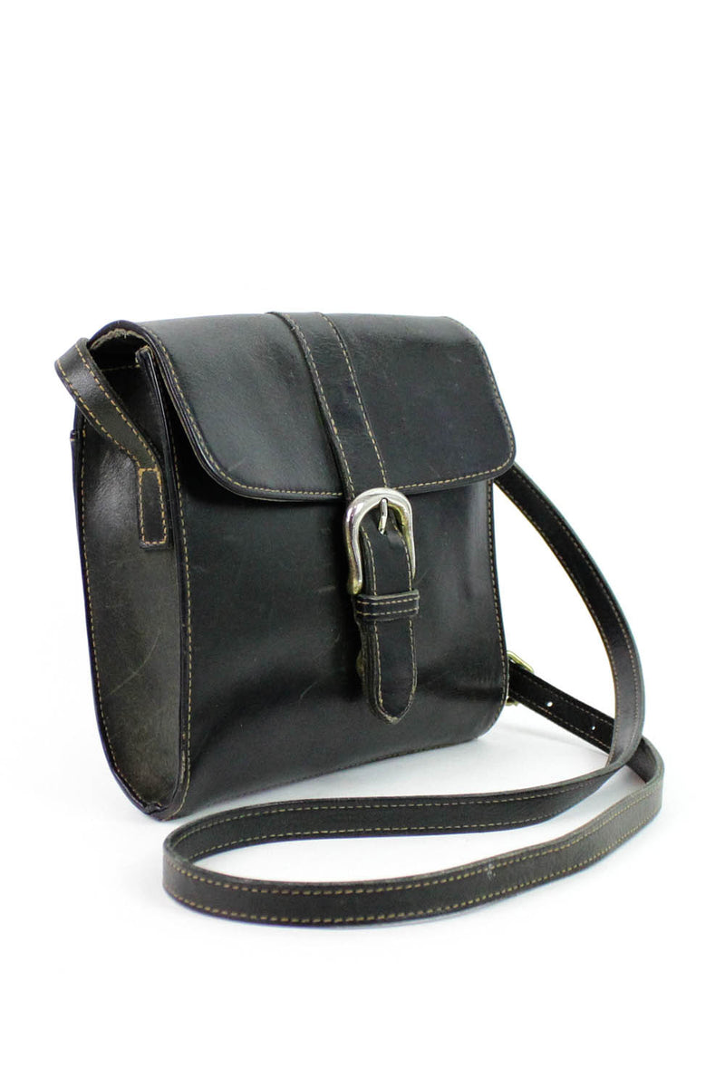 G.H. Bass & Co Buckled Crossbody Bag