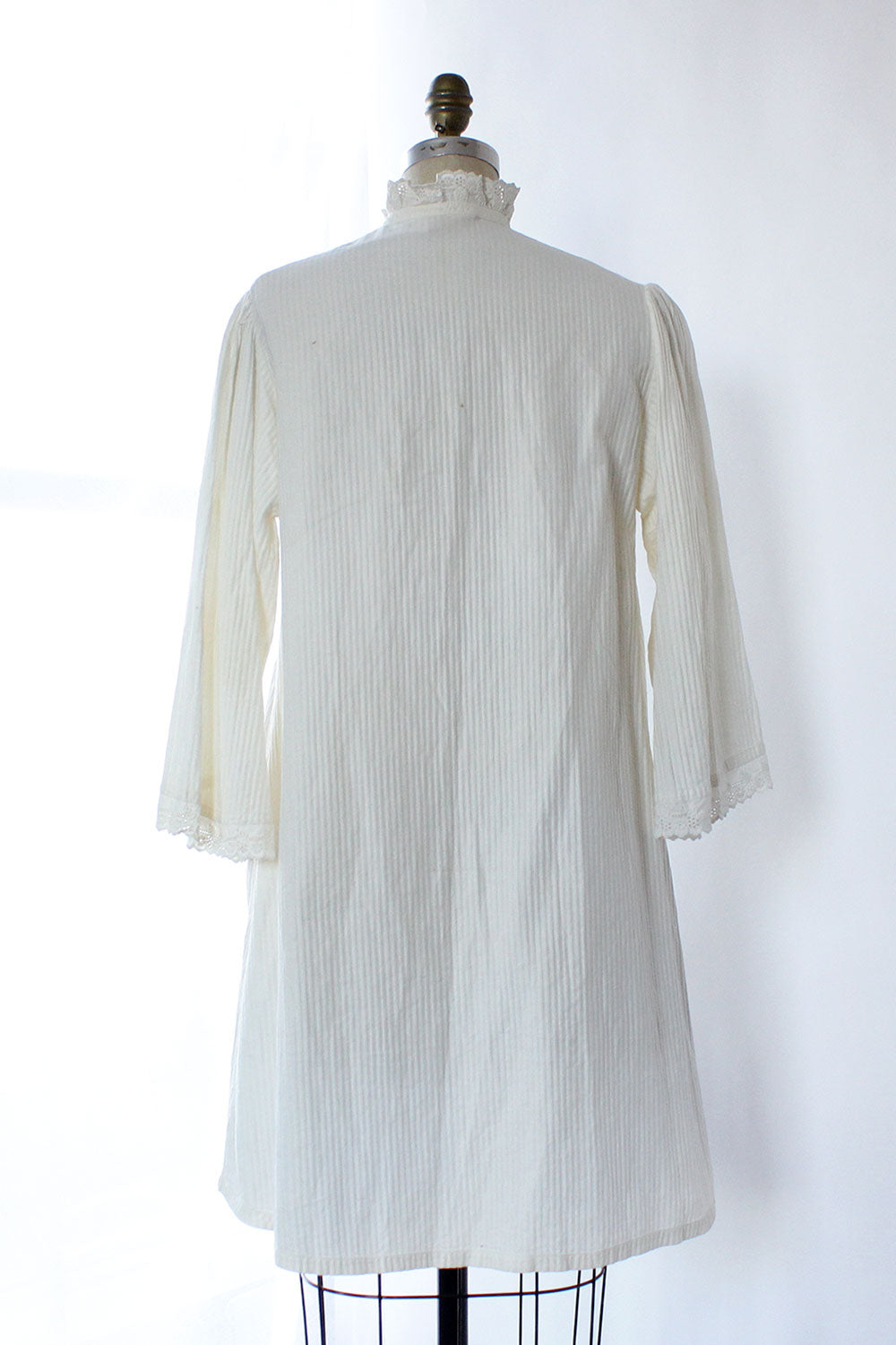 Pintucked 1920s Duster Dress